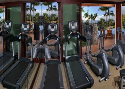 Workout Room at Lanikeha