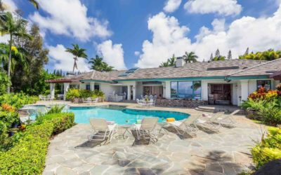 Lavish Luxury Home Real Estate for Sale in Kapalua Hawaii