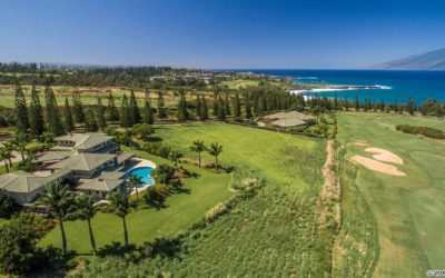 Maui Multi-Million Dollar Luxury Kapalua Plantation Home for Sale
