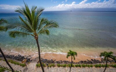 Hawaii Beachfront Condo at Kaanapali Shores with a Million Dollar View